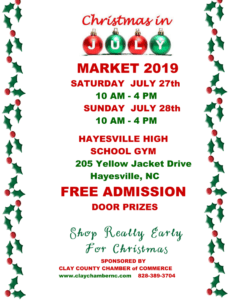 A must go!Christmas in July! So much goodies, food and fun.
